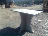 Garden Table - Round and rectangular
