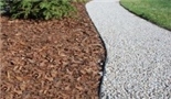 A completely new product in Norway.  This revolutionary new edging system makes it much easier to lay gravel, turf, pebbles, cobbles etc yourself.