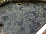 Crazy Paving: approx 3 - 5 pieces pr m2, approx 3 - 4 cm thick or approx 2 – 3 cm thick