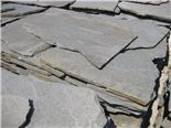 Crazy Paving: 3 - 5 pieces pr m2, approx 2 – 3 cm thick